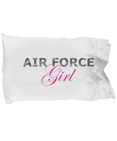 Air Force Girl - Pillow Case - Unique Gifts Store
