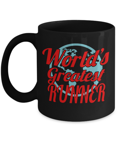 World's Greatest Runner - 11oz Mug - Unique Gifts Store