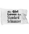 Standard Schnauzer - Pillow Case - Unique Gifts Store