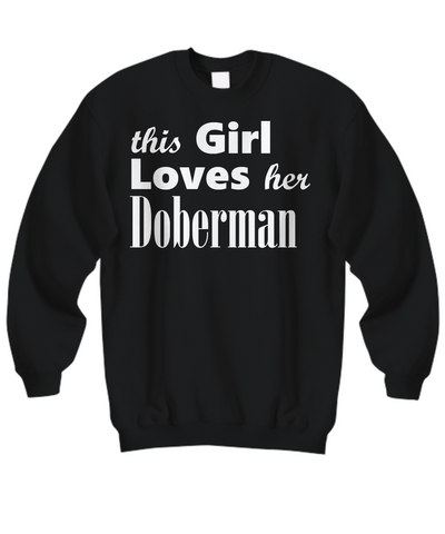Doberman - Sweatshirt - Unique Gifts Store