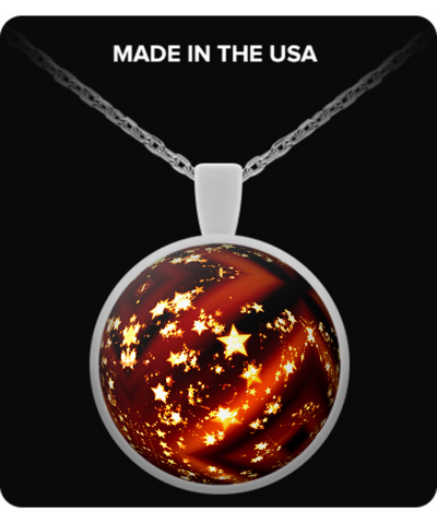 Red Christmas Ball - Necklace - Unique Gifts Store