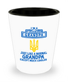 Ukrainian Grandpa - Shot Glass - Unique Gifts Store