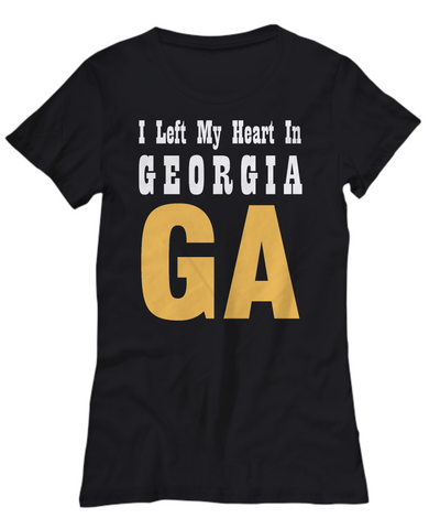 Heart In Georgia - Women's Tee