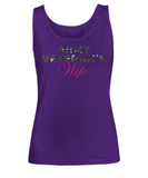 Army Veteran's Wife - Tank Top - Unique Gifts Store