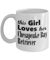 Chesapeake Bay Retriever - 11oz Mug - Unique Gifts Store