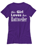 Rottweiler - Women's Tee - Unique Gifts Store