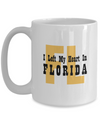 Heart In Florida - 15oz Mug - Unique Gifts Store