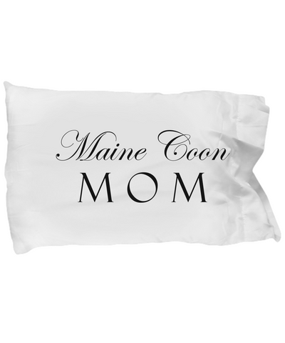 Maine Coon Mom - Pillow Case