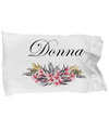 Donna - Pillow Case v2 - Unique Gifts Store