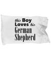 German Shepherd - Pillow Case v2 - Unique Gifts Store