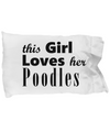 Poodles - Pillow Case - Unique Gifts Store