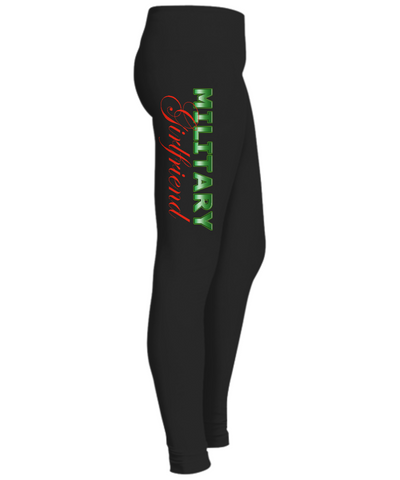 Military Girlfriend - Leggings - Unique Gifts Store