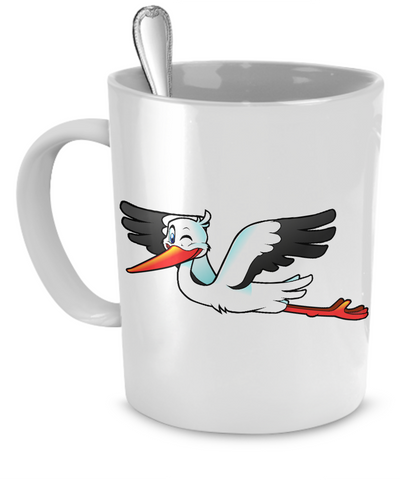 Stork - 11oz Mug - Unique Gifts Store