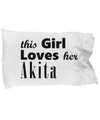 Akita - Pillow Case - Unique Gifts Store
