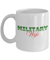 Military Wife - 11oz Mug v2 - Unique Gifts Store