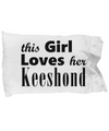 Keeshond - Pillow Case - Unique Gifts Store