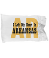 Heart In Arkansas - Pillow Case - Unique Gifts Store