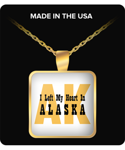 Heart In Alaska - Gold Plated Necklace