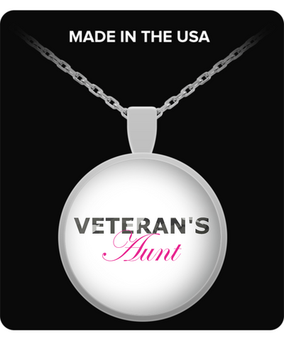 Veteran's Aunt - Necklace - Unique Gifts Store