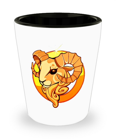 Aries - Shot Glass - Unique Gifts Store