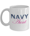 Navy Aunt - 11oz Mug - Unique Gifts Store