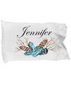 Jennifer v4 - Pillow Case