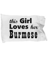 Burmese - Pillow Case
