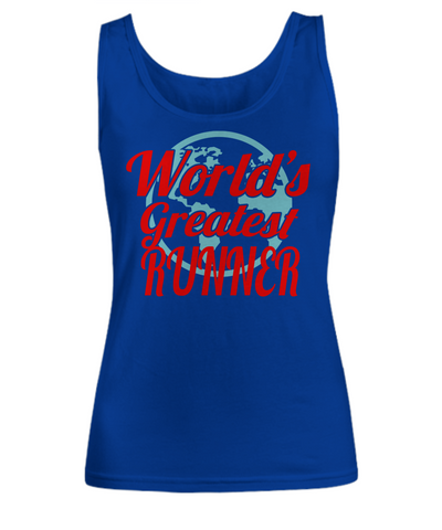 World's Greatest Runner - Women's Tank Top - Unique Gifts Store