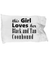 Black and Tan Coonhound - Pillow Case - Unique Gifts Store