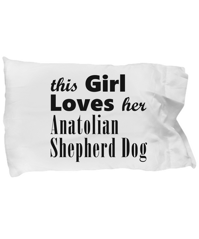 Anatolian Shepherd Dog - Pillow Case