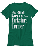 Yorkshire Terrier - Women's Tee - Unique Gifts Store