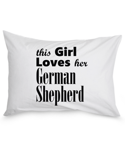 German Shepherd - Pillow Case - Unique Gifts Store