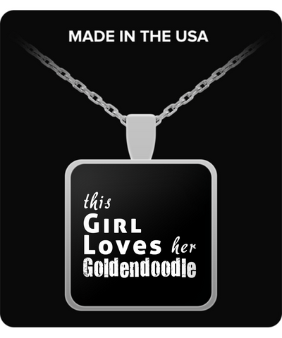 Goldendoodle - Necklace - Unique Gifts Store