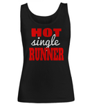 Hot Single Runner - Women's Tank Top