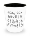 Sailing Knots - Shot Glass - Unique Gifts Store