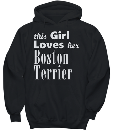 Boston Terrier - Hoodie - Unique Gifts Store