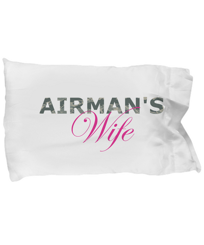Airman's Wife - Pillow Case