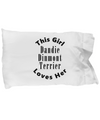 Dandie Dinmont Terrier v2c - Pillow Case