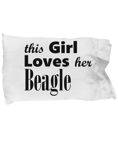 Beagle - Pillow Case - Unique Gifts Store