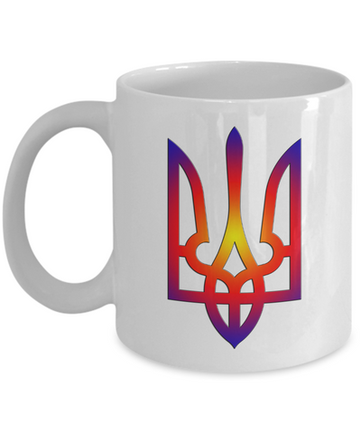 Tryzub #1 - 11oz Mug - Unique Gifts Store