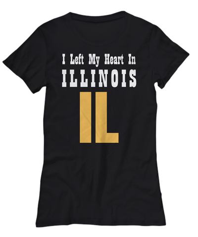 Heart In Illinois - Women's Tee