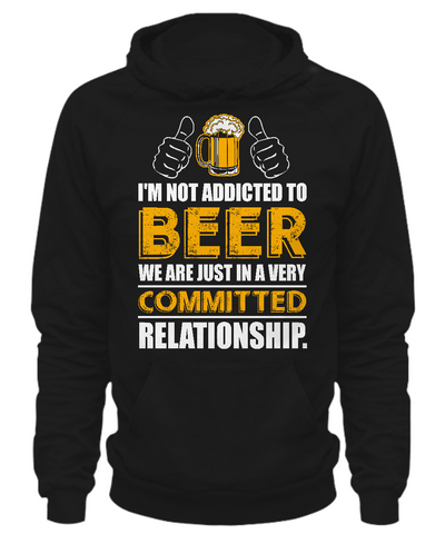 Beer Relationship - Hoodie - Unique Gifts Store