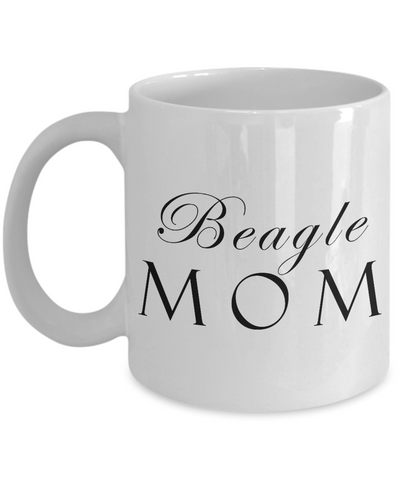 Beagle Mom - 11oz Mug - Unique Gifts Store