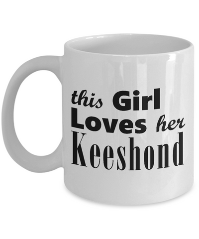 Keeshond - 11oz Mug - Unique Gifts Store