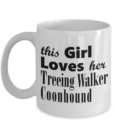 Treeing Walker Coonhound - 11oz Mug - Unique Gifts Store