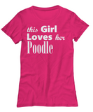 Poodle - Women's Tee - Unique Gifts Store