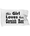 Cornish Rex - Pillow Case - Unique Gifts Store