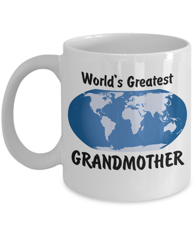 World's Greatest Grandmother - 11oz Mug - Unique Gifts Store