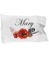 Mary v7 - Pillow Case - Unique Gifts Store