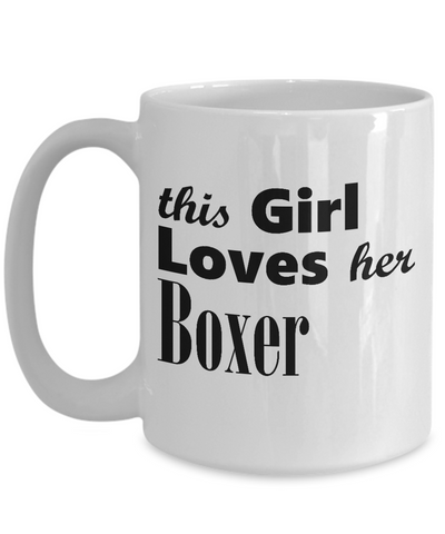 Boxer - 15oz Mug - Unique Gifts Store
